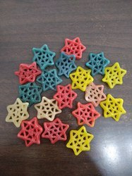 Star Shaped Fryums, Packaging Size: 30 kg