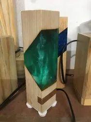 Epoxy Resin Lamp