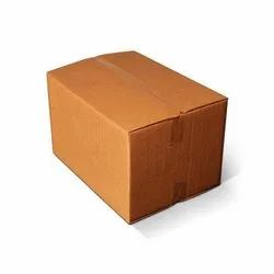 Cardboard Double Wall - 5 Ply Corrugated Paper Box, for Apparel, Box Capacity: 6-10 Kg