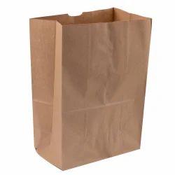 Brown Plain Paper Bag