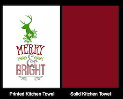 Adorable And Stylish Christmas Deer Dish Towel