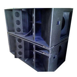 Horn Loaded Dual Bass Empty Cabinet