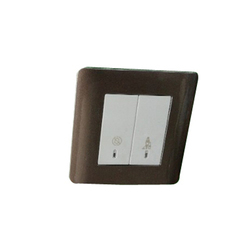 White And Grey Heavy Duty Modular Electrical Switch
