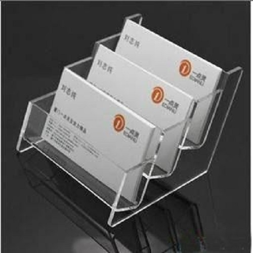 Transparent business card holder sizedimension 2mm3mm rs 200 transparent business card holder sizedimension 2mm3mm reheart Images