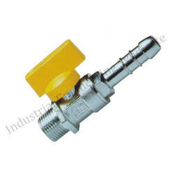 CIM 170 Gas Ball Valve With Inbuilt Hose Nipple