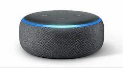 Black Amazon Echo Dot (3rd Generation), Features: Alexa Play The Latest Bollywood Hits