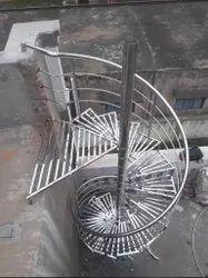 Terrace SS Spiral Handrail
