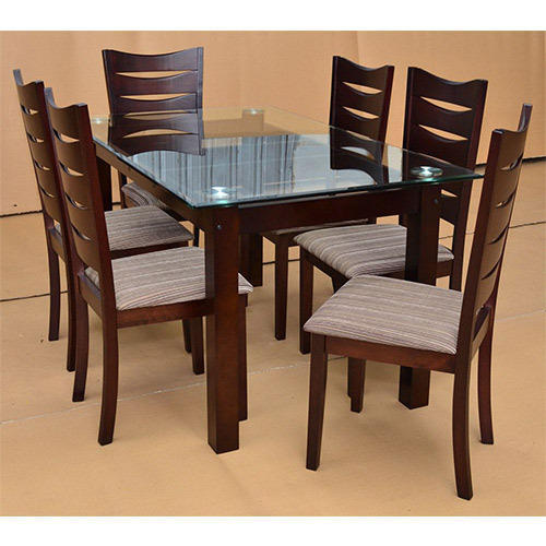 Six Seater Wooden Dining Table Set At Rs 25000 Set Wooden Dining Table Set Id 15274638212