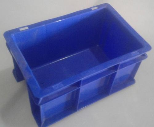 Solid Box HDPE Storage Crate, Capacity: 4 L, 6 L, 8 L, 8.5 L, 25 L