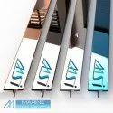 Stainless steel inlay T Patti