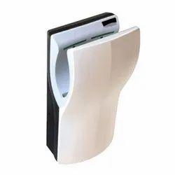 Black and White Jaquar Dual Plus Flow Hand Dryers, Dimension/Size: 320 X 226 X 656 Mm (w X D X H)