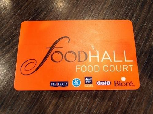 Food Court Cards
