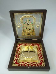 Balaji Gold Plated Photo Frame Box