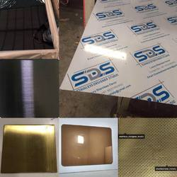 PVD Ti Coated Decorative Stainless Steel Sheet