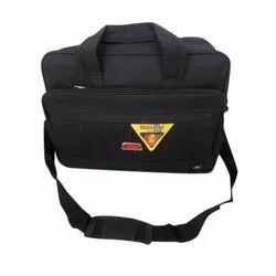 Black 6*6 Material Office Laptop Bag, Capacity: 32 Liter