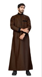 Premium Cotton Plain Men Thobe Jubba