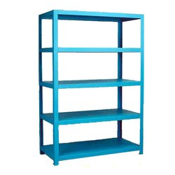 Mild Steel Sky Blue Painted MS Rack, for Warehouse