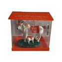 Orange Acrylic Cow Donation Box