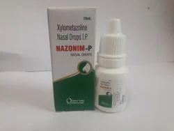 Nazonim P Xylometazoline Nasal Drops I.P., Medicine Grade, Packaging Size: 10 Ml