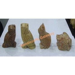 Soapstone Animal Figurines