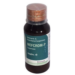 Mefenamic and Paracetamol Suspension