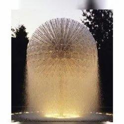Fiber Boll Water Fountain