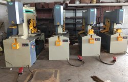 Hydraulic 5 in 1 Ironworker Machine