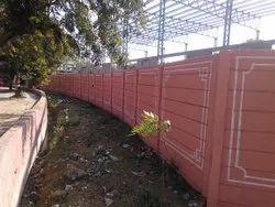 Exterior Precast Fencing Compound Wall
