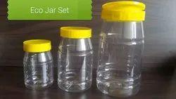 TPCL Transparent ECO JARS, Capacity: 200 Gr 500 Gr 1000 Gr