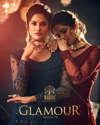 Mohini Fashion Glamour Vol-73 Gown Type Salwar Kameez
