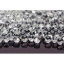 Round Clear Glass Beads (grinding Purpose), Size: 0.5mm To 8mm
