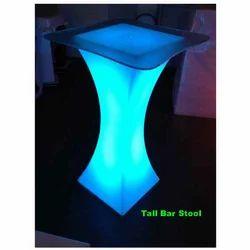 Led Light Tall Bar Stool