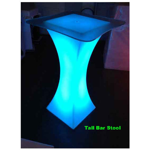 online store 8c458 8dc34 Led Tall Bar Stool