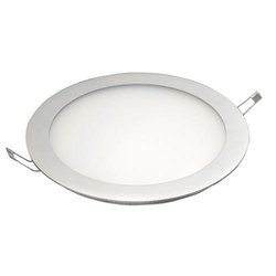 Cool White 12 W LED Round Panel Light