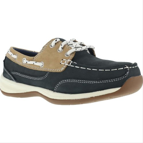 Men Rockport Steel Toe Work Boat Shoes
