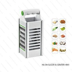 Grater,Slicer,Vegetable 4in1-HA-04