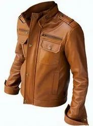 brown Leather Jacket Msg 0006
