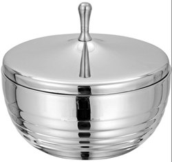 Steel Double Wall Serving Bowl
