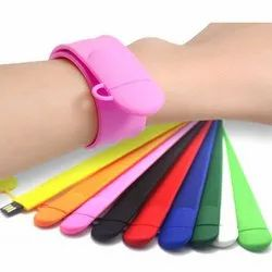 Silicon Slap Wristband USB Flash Pen Drive