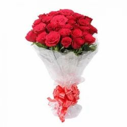 Red Fresh Rose Bouquet