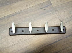 Zinc ABS Coat Hook