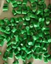 Reprocessed Green PP Granules