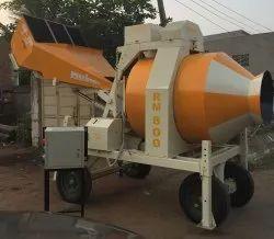 Reversible Mobile Concrete Mixer