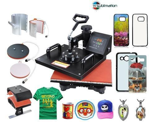 b89a5c5b4 Sublimation Machine - 5 In 1 Combo Heat Press Machine Wholesale Sellers  from Indore