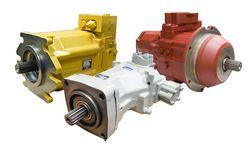 L & T 752 Hydraulic Travel Pump Service