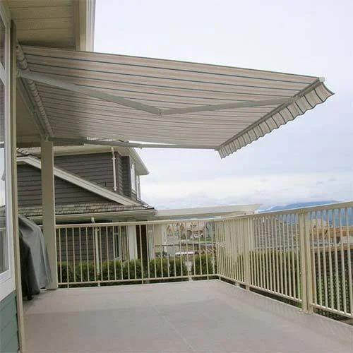 Rectangular Terrace Retractable Awning, Rs 150 /square feet Mashwin  Enterprises   ID: 17443998591