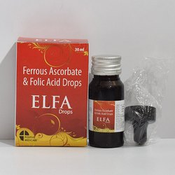 Ferrous Ascorbate and Folic Acid Drops