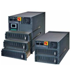 Three Phase Rack Mounted Modular UPS System, Input Voltage: 340 V To 480 V