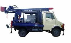 DTH 100 Pick Up Truck Mounted Drilling Rig