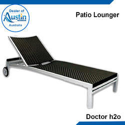 Stainless Steel Patio Lounger